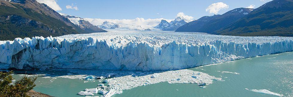 Vista aérea da Patagônia