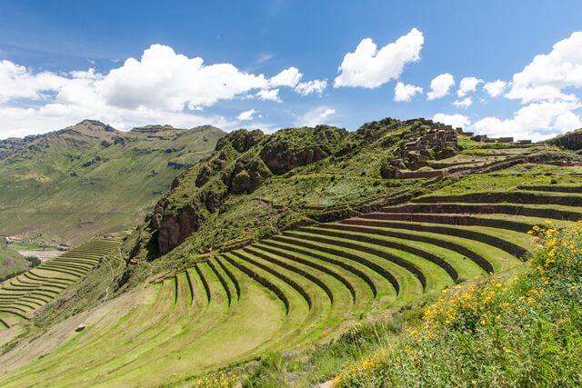 Valle Sagrado, assentamento Inca em Pisac, Peru.