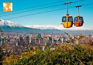 Pacote de viagem para o Chile