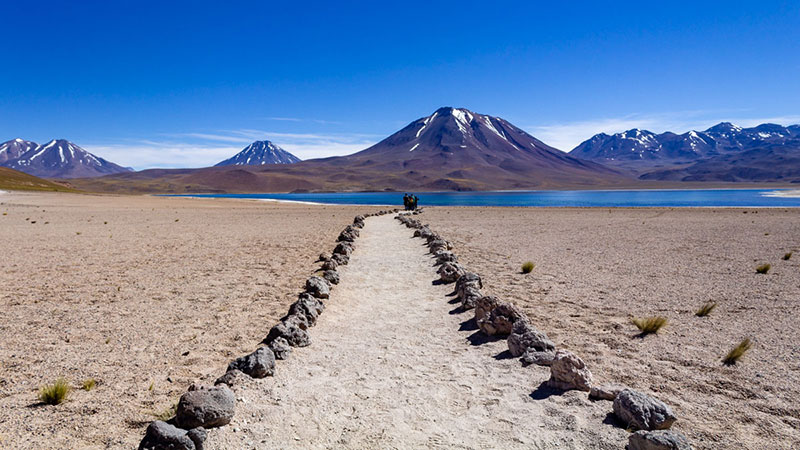 O atacama fica ao norte do Chile